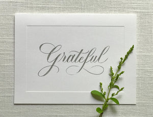 Gratitude Note Card Collection - Pack of 6 with envelopes