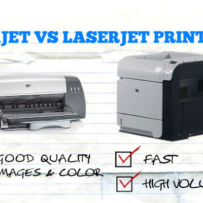 Inkjet vs Laser Printer for Home Office & Small Business Printing