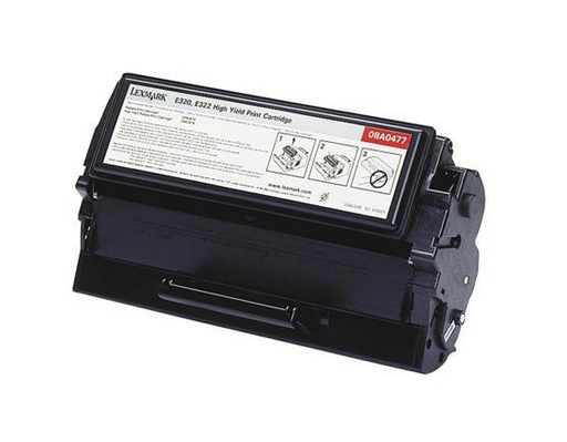 Lexmark 08A0477 Black Compatible U.S. Made MICR Toner