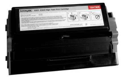 Lexmark 12A7305 Black Compatible U.S. Made Laser Toner