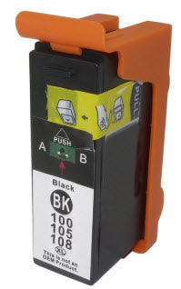 Lexmark 14N1092 (# 100XLBK) Black Remanufactured Ink Cartridge