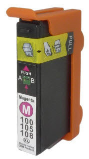 Lexmark 14N1094 (# 100XLM) Magenta Remanufactured Ink Cartridge