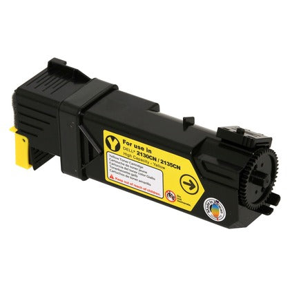 Dell 330-1438 (330-1391) (T108C) Yellow Compatible U.S. Made Laser Toner