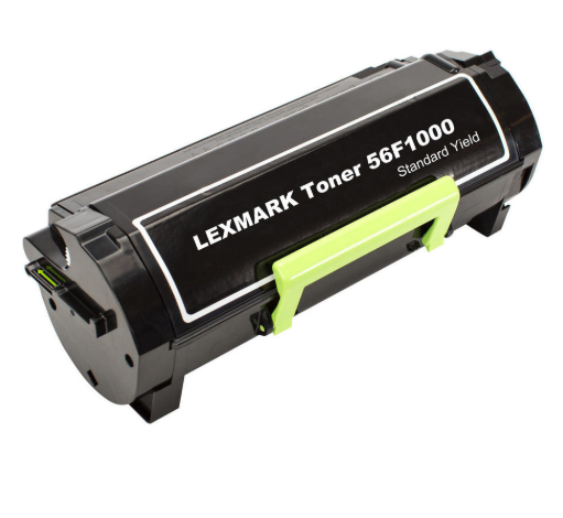 Lexmark 56F1000 Black Compatible U.S. Made Laser Toner