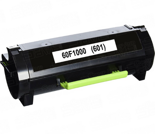 Lexmark 60F1000 (601) Black Compatible U.S. Made Laser Toner