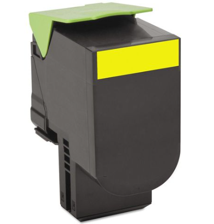 Lexmark 80C1XY0 (801XY) Yellow Compatible U.S. Made Laser Toner