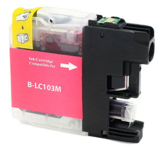Brother LC103M Magenta Remanufactured Ink Cartridge