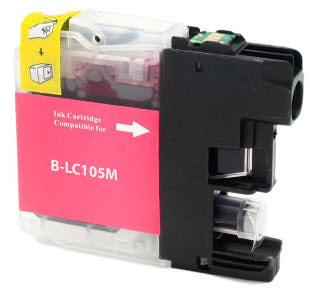 Brother LC105M Magenta Remanufactured Ink Cartridge