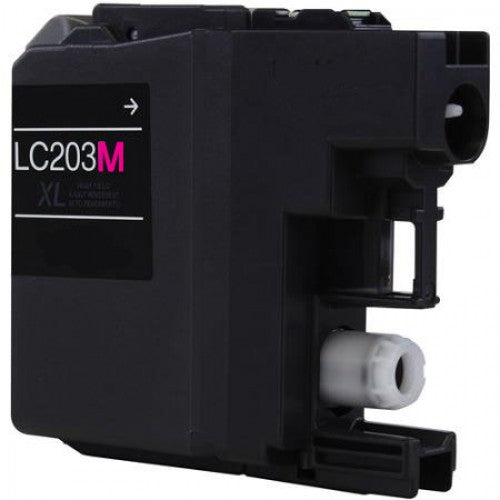 Brother LC203M Magenta U.S. Made Remanufactured Ink Cartridge