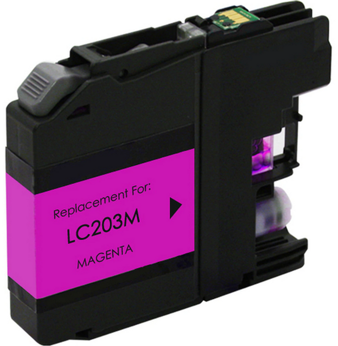 Brother LC203M Magenta Remanufactured Ink Cartridge