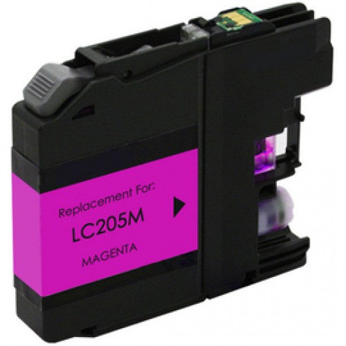 Brother LC205XXLM Magenta Compatible U.S. Made Ink Cartridge