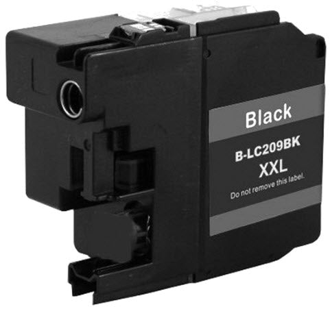 Brother LC209XXLBK Black Compatible Ink Cartridge