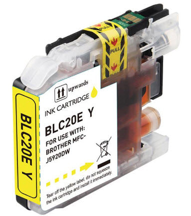 Brother LC20EY Yellow Compatible Ink Cartridge