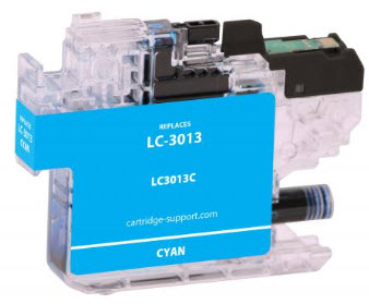 Brother LC3013C Cyan Compatible Ink Cartridge