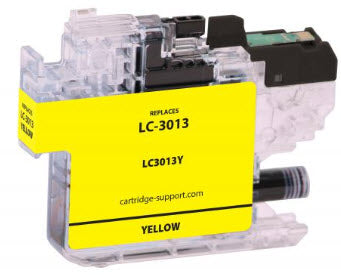 Brother LC3013Y Yellow Compatible Ink Cartridge
