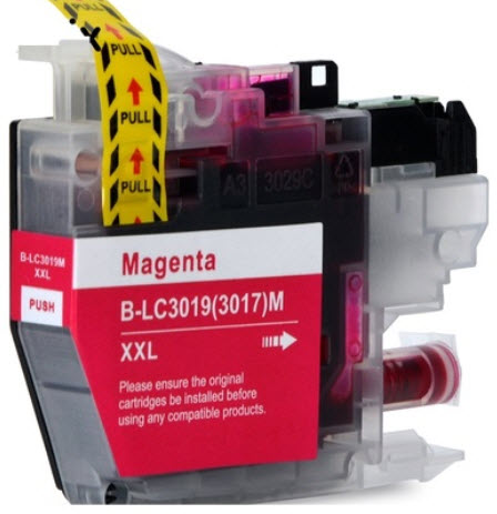 Brother LC3019XXLM Magenta Remanufactured Ink Cartridge