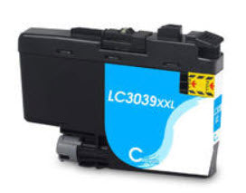 Brother LC3039XLC Cyan Remanufactured Ink Cartridge