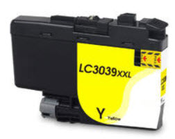 Brother LC3039XLY Yellow Remanufactured Ink Cartridge