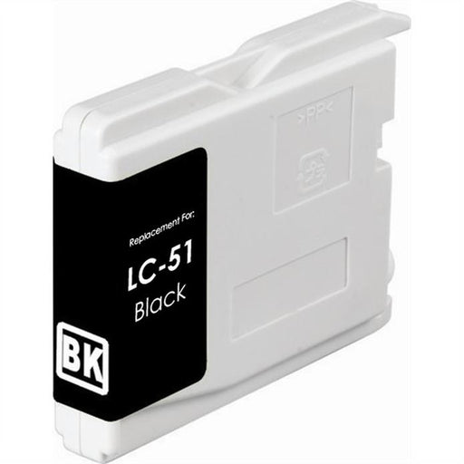 Brother LC51BK Black Compatible Ink Cartridge