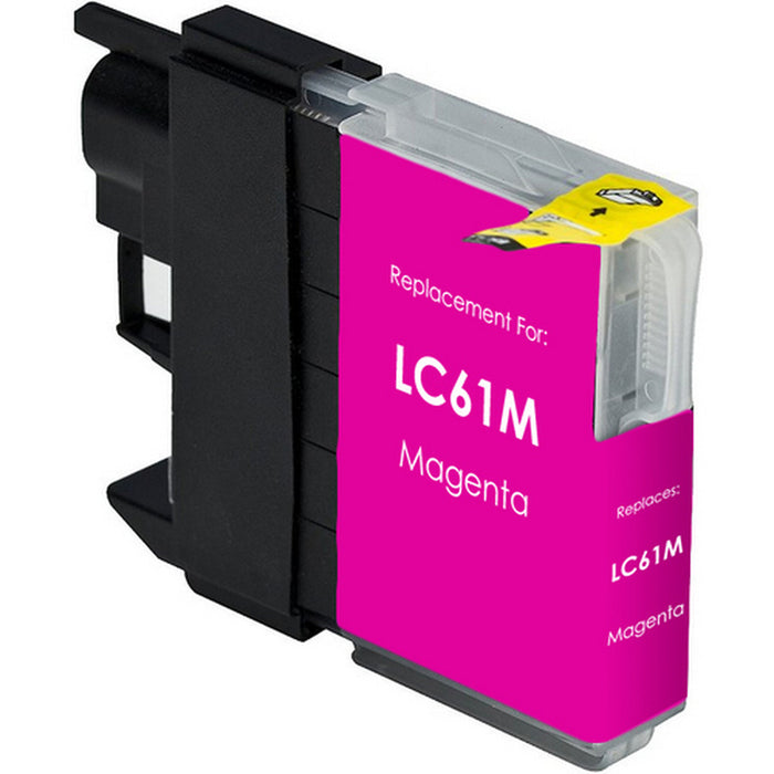 Brother LC61M / LC65M Magenta Compatible U.S. Made Ink Cartridge