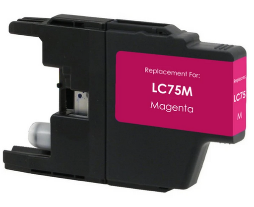 Brother LC71M / LC75M Magenta Compatible Ink Cartridge