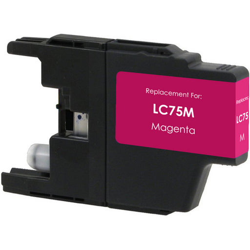 Brother LC71M / LC75M Magenta Compatible U.S. Made Ink Cartridge
