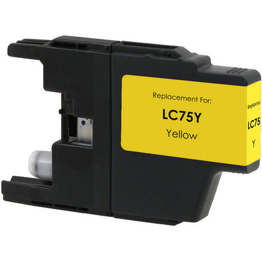 Brother LC71Y / LC75Y Yellow Compatible U.S. Made Ink Cartridge