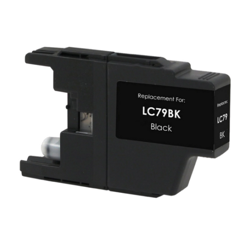Brother LC79BK Black Compatible U.S. Made Ink Cartridge
