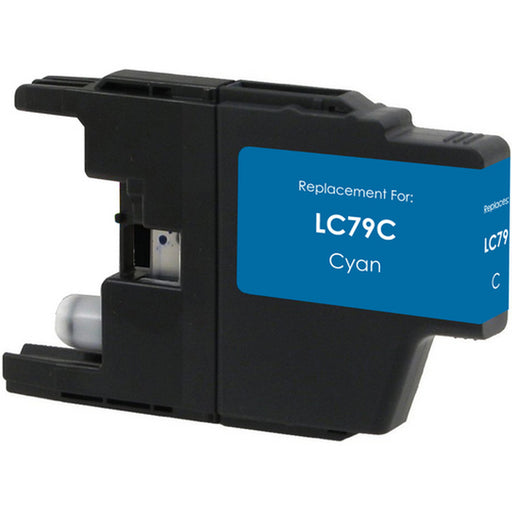 Brother LC79C Cyan Compatible U.S. Made Ink Cartridge
