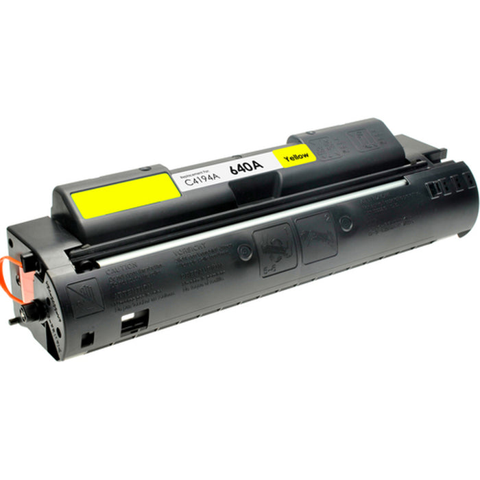 HP C4194A (HP 640A) Yellow Compatible U.S. Made Laser Toner