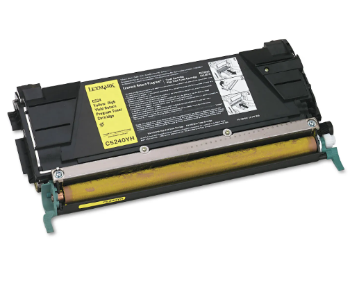Lexmark C5240YH Yellow Compatible Laser Toner