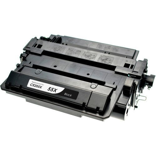 HP CE255X (HP 55X) Black Compatible U.S. Made Laser Toner