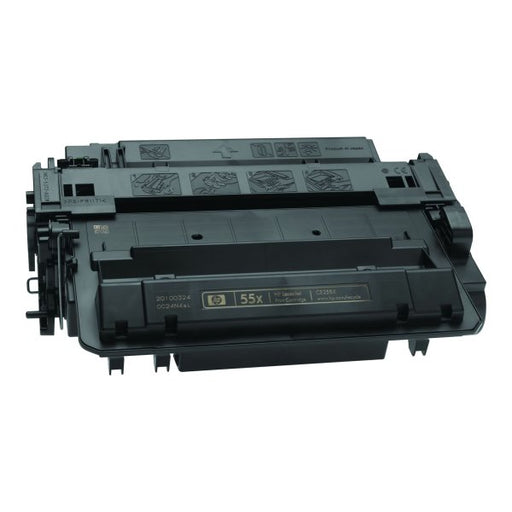 HP CE255X (HP 55X) Jumbo Black Compatible U.S. Made Laser Toner