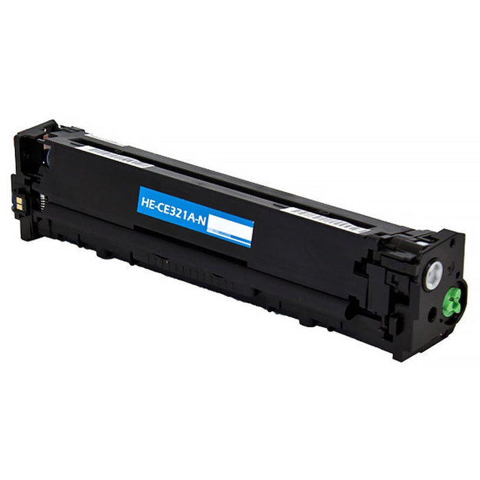 HP CE321A (HP 128A) Cyan Compatible U.S. Made Laser Toner