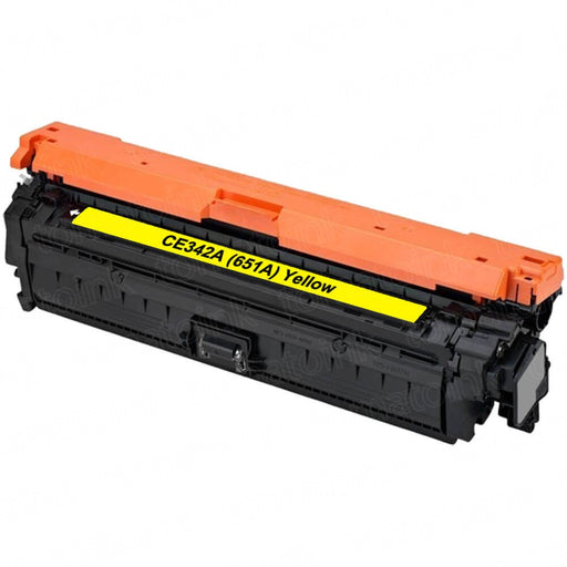 HP CE342A (HP 651A) Yellow Compatible U.S. Made Laser Toner