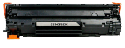 HP CF283X (HP 83X) Black Compatible U.S. Made MICR Toner