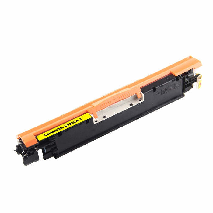HP CF352A (HP 130A) Yellow Compatible U.S. Made Laser Toner