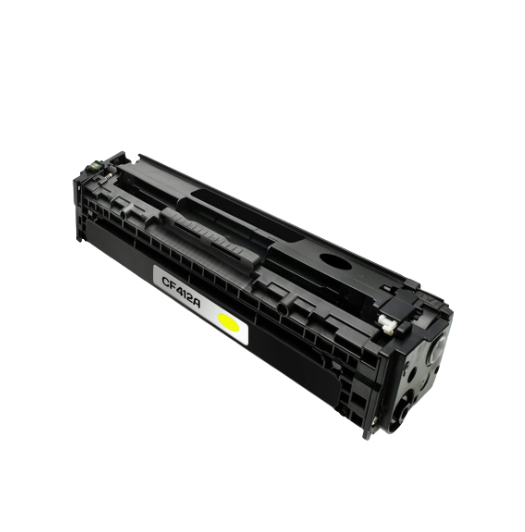 HP CF412A (HP 410A) Yellow Compatible U.S. Made Laser Toner