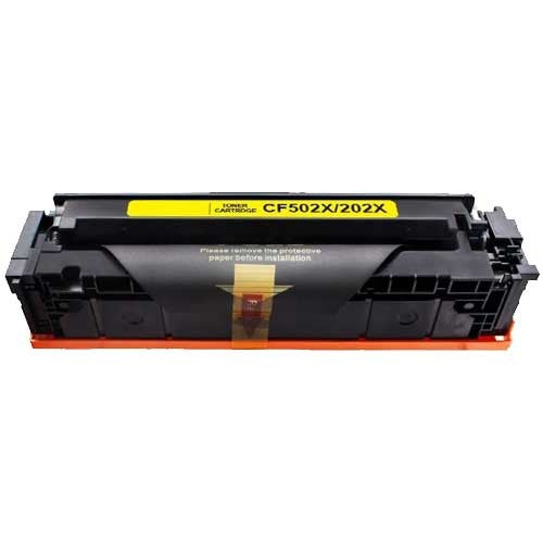 HP CF502X (HP 202X) Yellow Compatible Laser Toner
