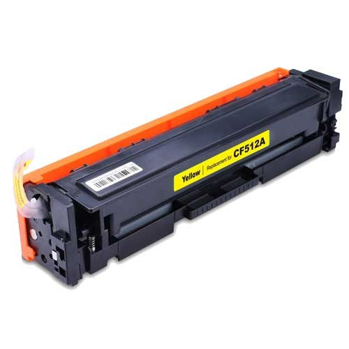 HP CF512A (HP 204A) Yellow Compatible U.S. Made Laser Toner
