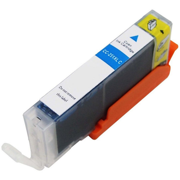Canon CLI-251XLC Cyan Compatible U.S. Made Ink Cartridge