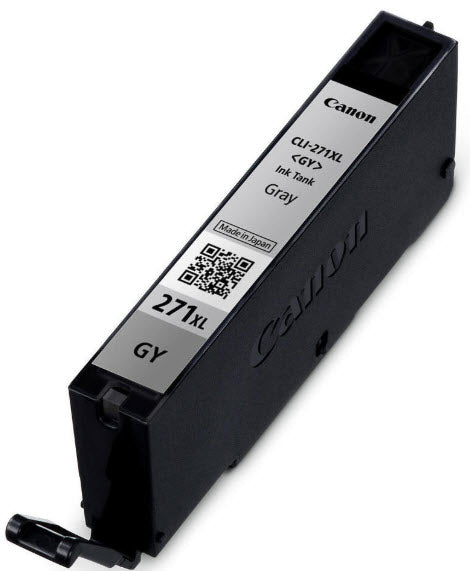 Canon CLI-271XLGY Gray Compatible Ink Cartridge