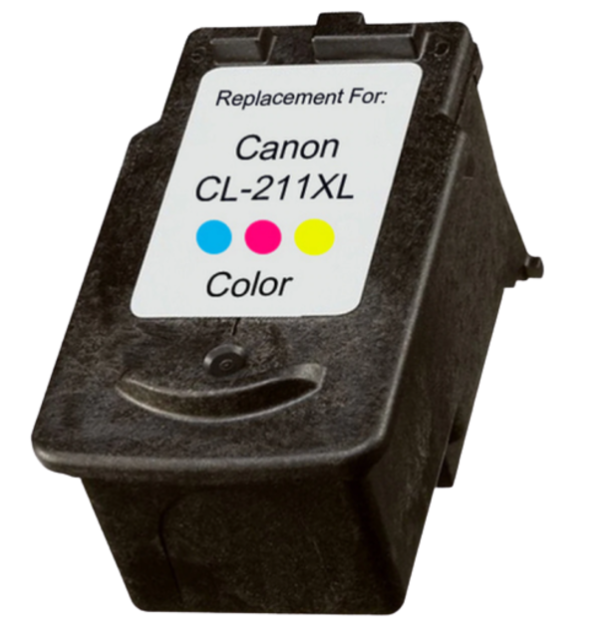 Canon CL-211XL Tri-Color Compatible U.S. Made Ink Cartridge