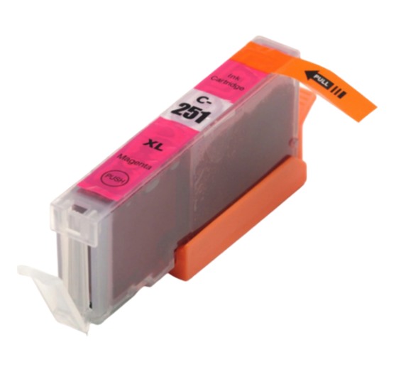 Canon CLI-251XLM Magenta Compatible U.S. Made Ink Cartridge