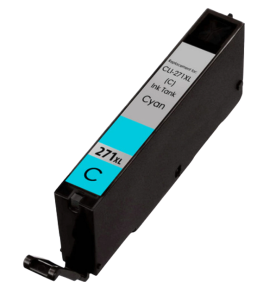 Canon CLI-271XLC Cyan Compatible U.S. Made Ink Cartridge