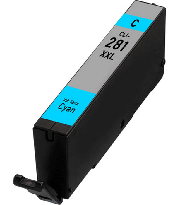 Canon CLI-281XXLC Cyan Compatible Ink Cartridge