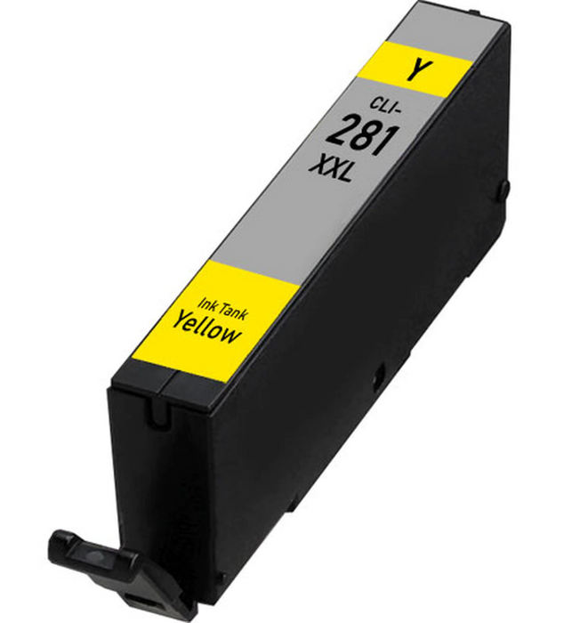 Canon CLI-281XXLY Yellow Compatible Ink Cartridge