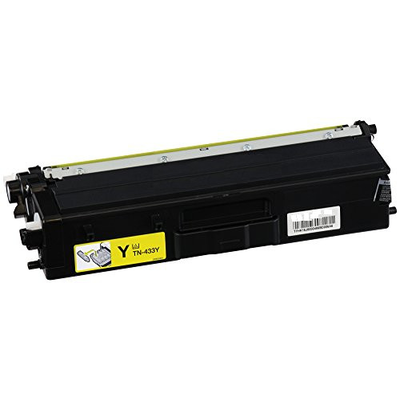 Brother TN433Y Yellow Compatible Laser Toner