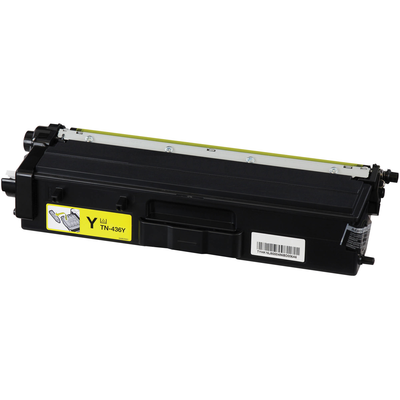 Brother TN436Y Yellow Compatible Laser Toner