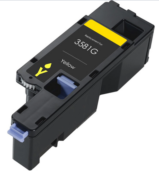 Dell 593-BBJW (MWR7R) (3581G) Yellow Compatible U.S. Made Laser Toner